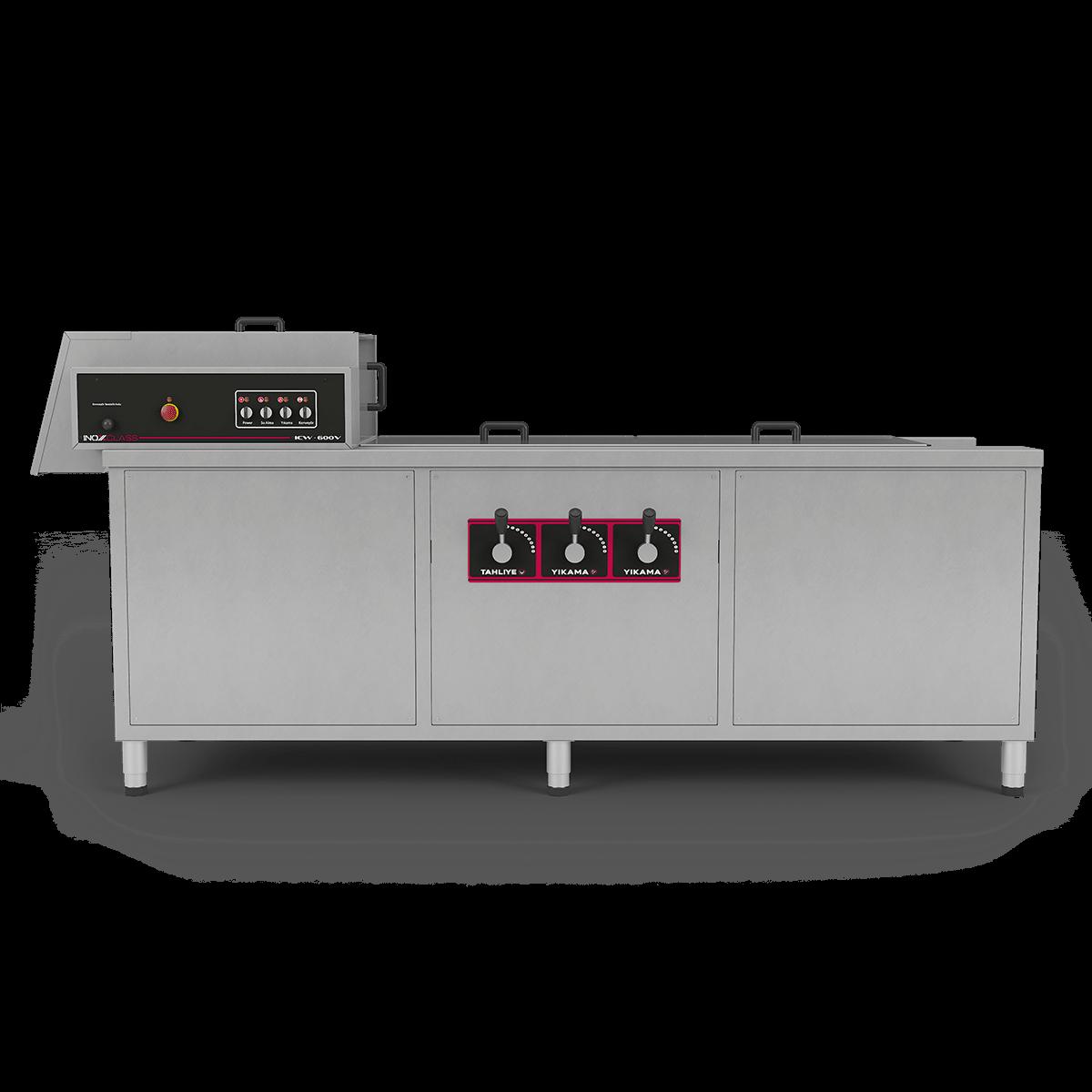 ICW-600V Sebze Yıkama Makinesi